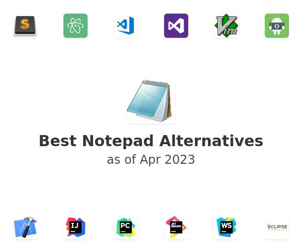 Best Notepad Alternatives