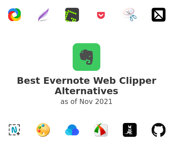 Best Evernote Web Clipper Alternatives