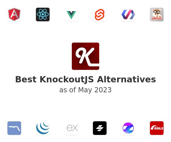 Best KnockoutJS Alternatives