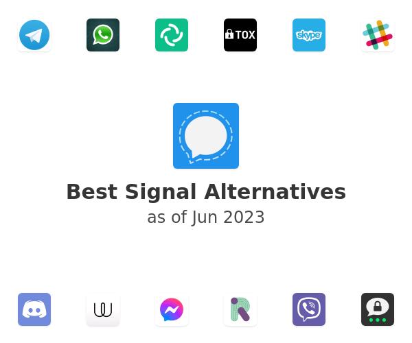 Best Signal Alternatives