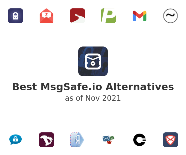 Best MsgSafe.io Alternatives