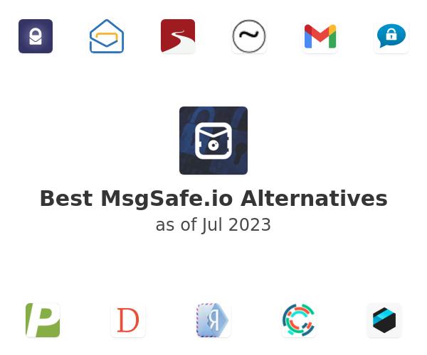 Best MsgSafe.io Alternatives