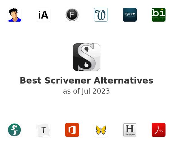 Best Scrivener Alternatives