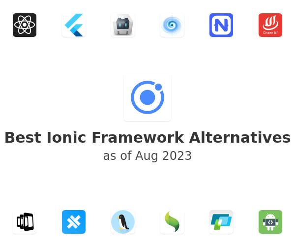 Best Ionic Framework Alternatives