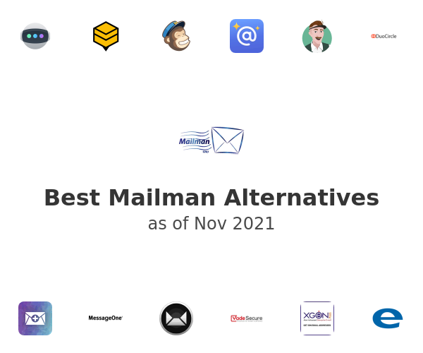 Best Mailman Alternatives