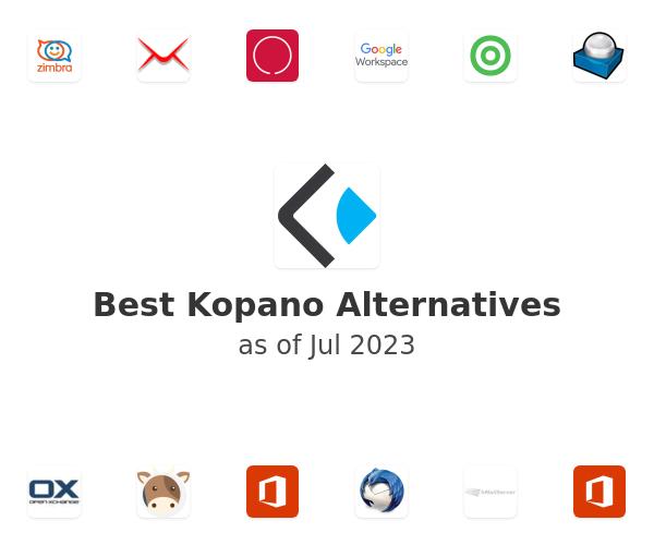 Best Kopano Alternatives