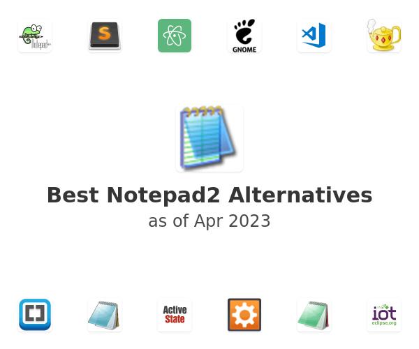 Best Notepad2 Alternatives