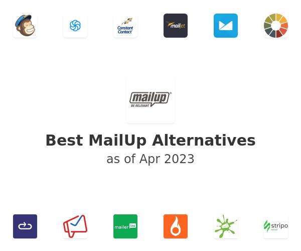 Best MailUp Alternatives