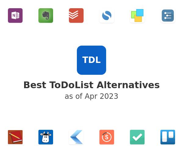 Best ToDoList Alternatives