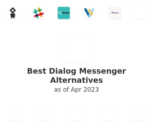 Best Dialog Messenger Alternatives