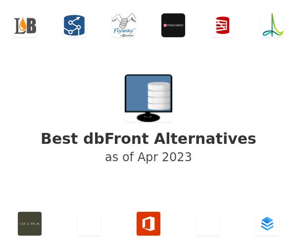 Best dbFront Alternatives