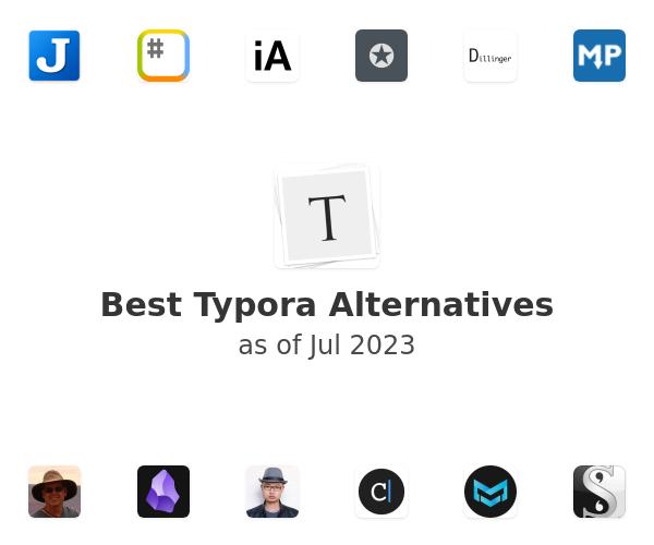 Best Typora Alternatives