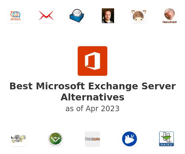 Best Microsoft Exchange Server Alternatives