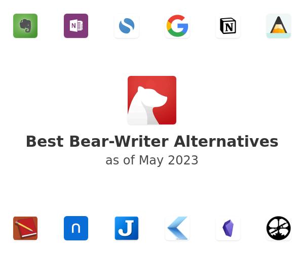 Best Bear Alternatives