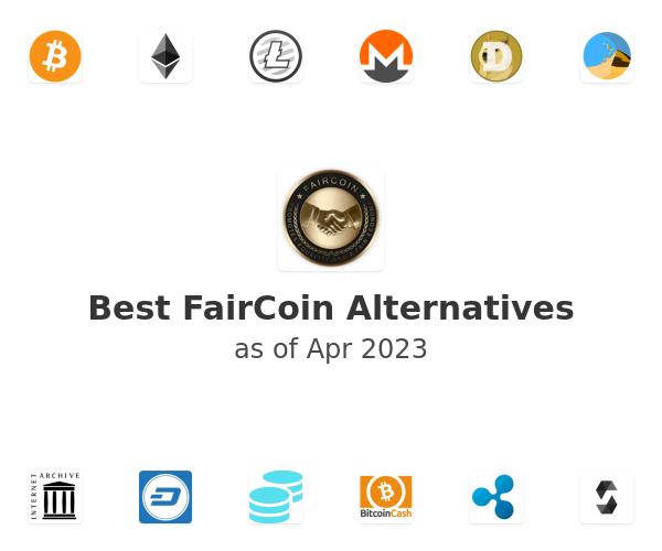 Best FairCoin Alternatives