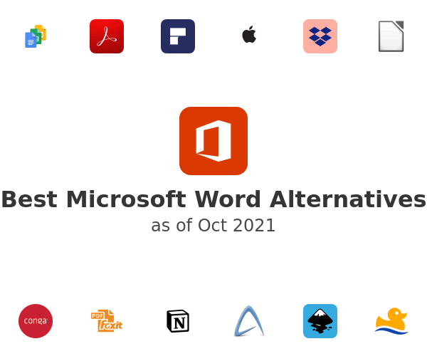 Best Microsoft Word Alternatives