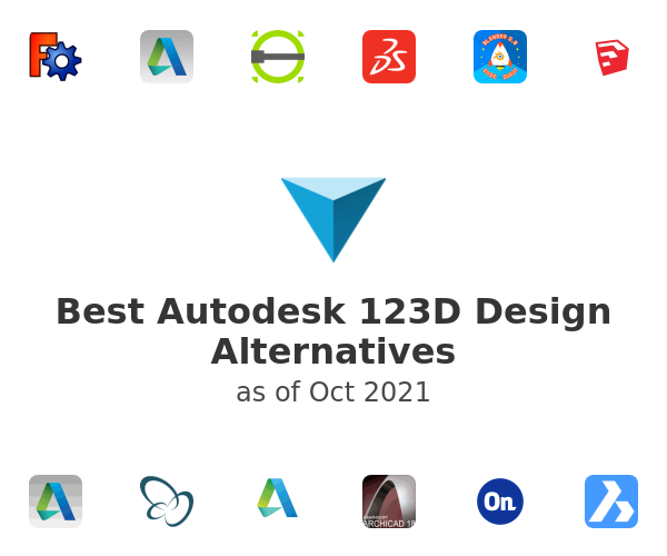 Best Autodesk 123D Design Alternatives