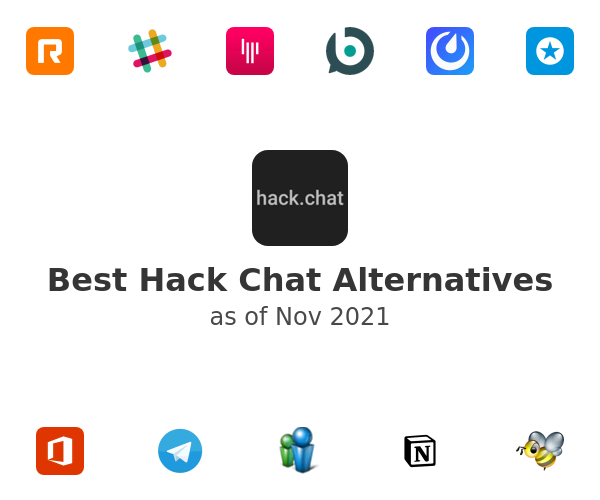 Best Hack Chat Alternatives