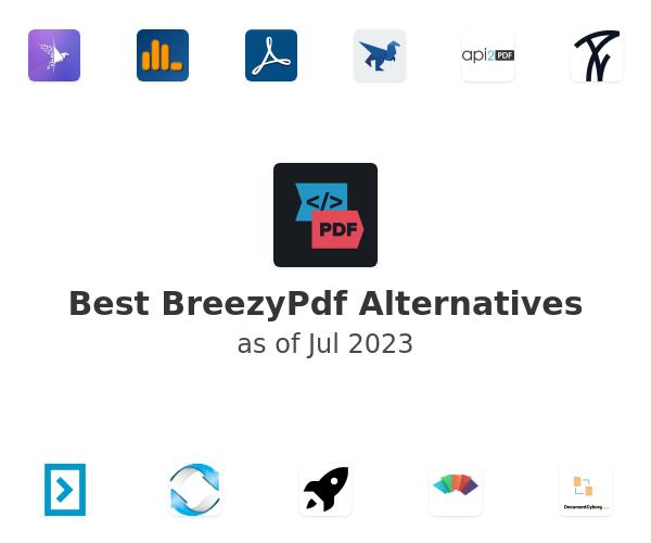Best BreezyPdf Alternatives