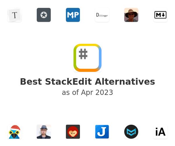 Best StackEdit Alternatives