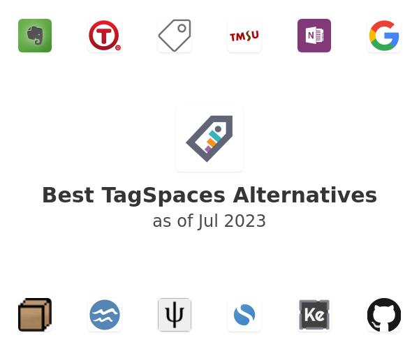 Best TagSpaces Alternatives