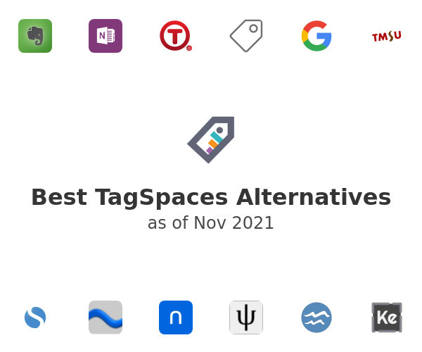 Best TagSpaces Alternatives