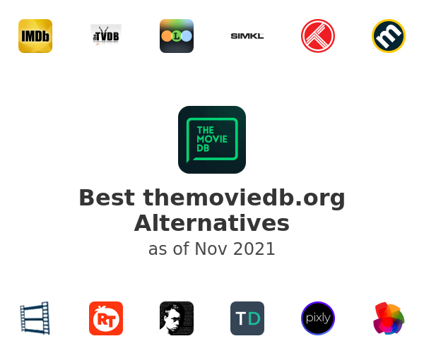 Best themoviedb.org Alternatives