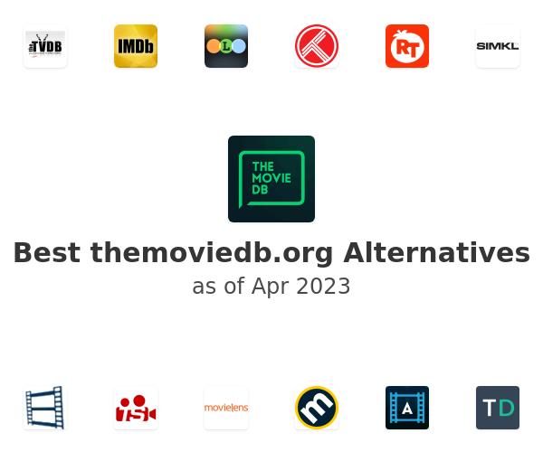 Best themoviedb.org Alternatives