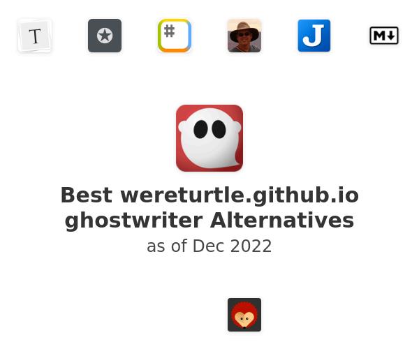 Best ghostwriter Alternatives