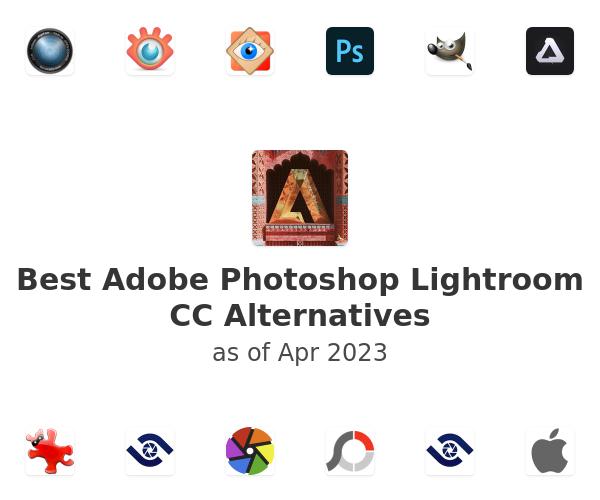 Best Adobe Photoshop Lightroom CC Alternatives