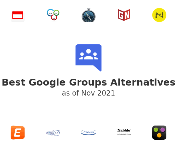 Best Google Groups Alternatives