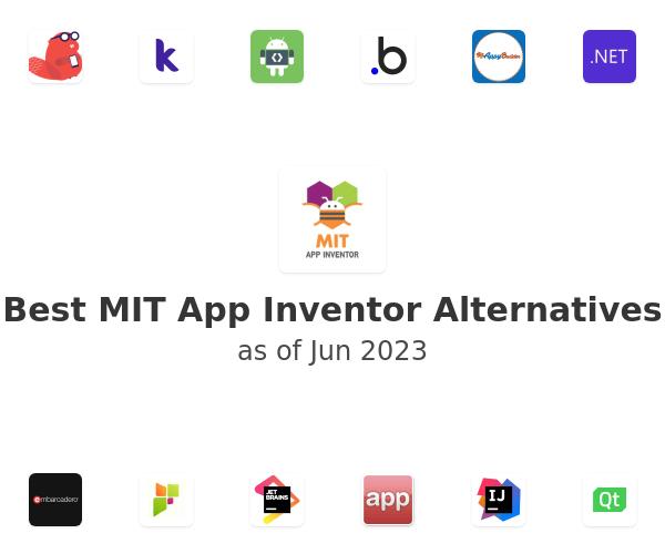 Best MIT App Inventor Alternatives