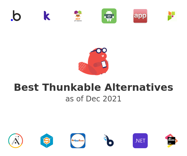 Best Thunkable Alternatives