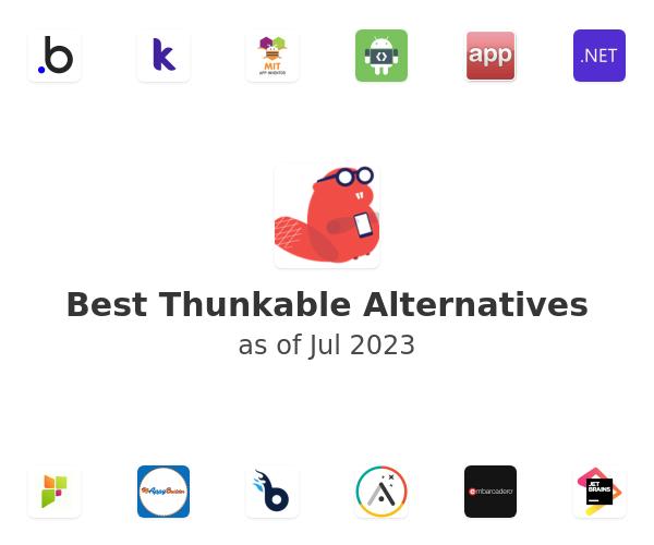 Best Thunkable Alternatives