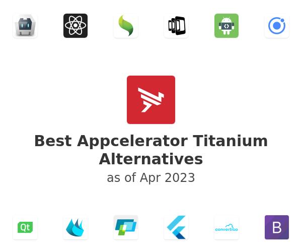 Best Appcelerator Titanium Alternatives