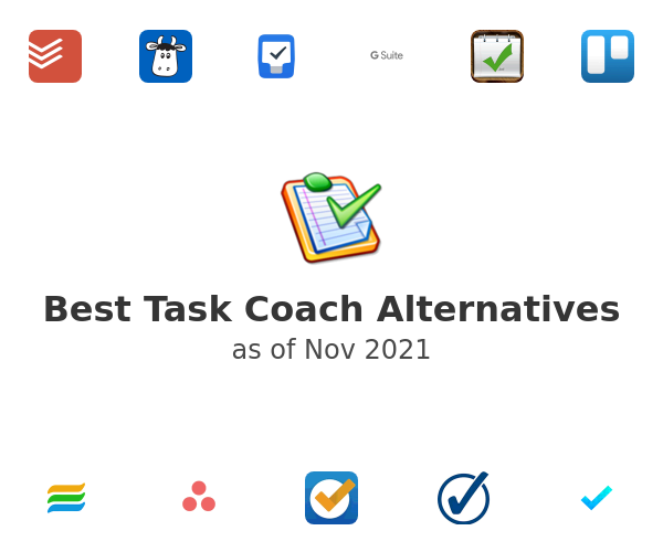 Best Task Coach Alternatives