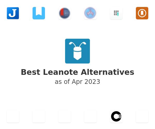 Best Leanote Alternatives