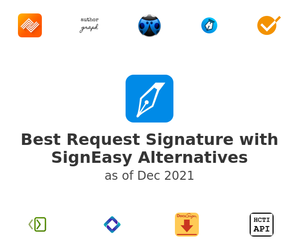 Best Request Signature with SignEasy Alternatives