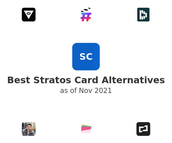 Best Stratos Card Alternatives