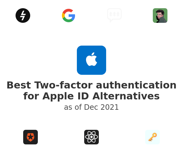 Best Two-factor authentication for Apple ID Alternatives