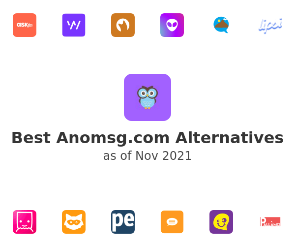 Best Anomsg.com Alternatives