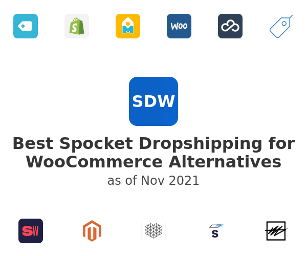Best Spocket Dropshipping for WooCommerce Alternatives