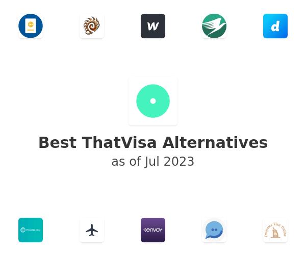 Best ThatVisa Alternatives