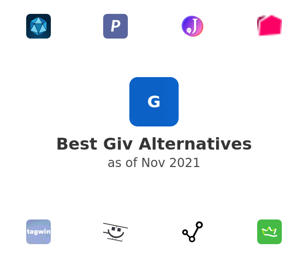 Best Giv Alternatives