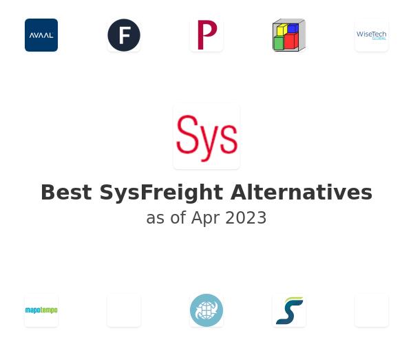 Best SysFreight Alternatives