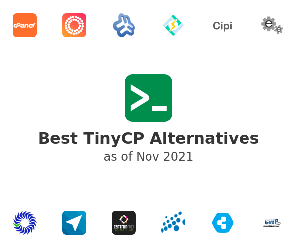 Best TinyCP Alternatives