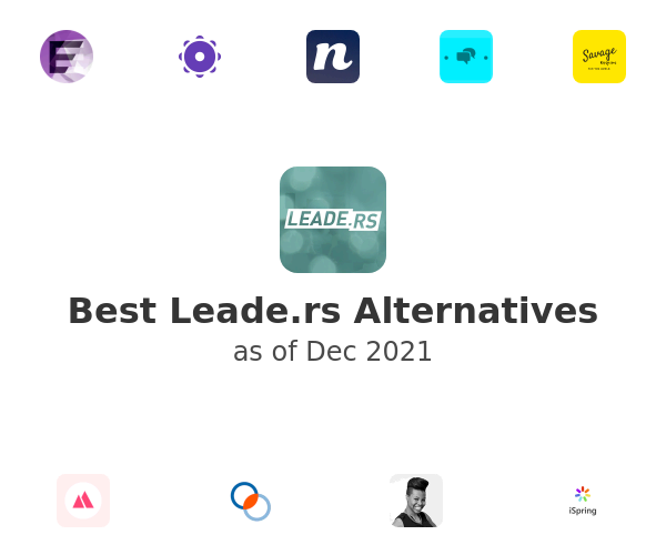 Best Leade.rs Alternatives
