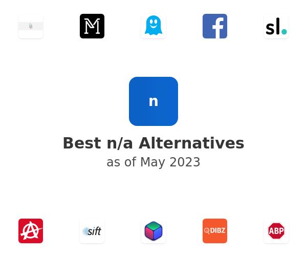 Best n/a Alternatives