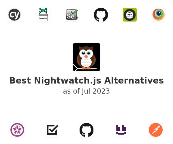 Best Nightwatch.js Alternatives