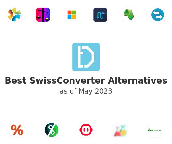 Best SwissConverter Alternatives